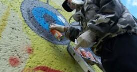 Schulklasse gestaltet Bahnunterwerk der RSAG 2