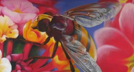"""Macroaufnahme """"Biene"""""""