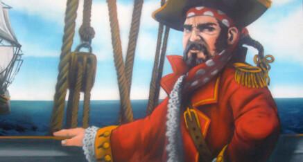 Pirat für die Kita