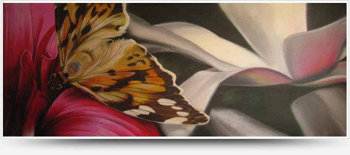 Illusionsmalerei - Trompe l'oeil Malerei