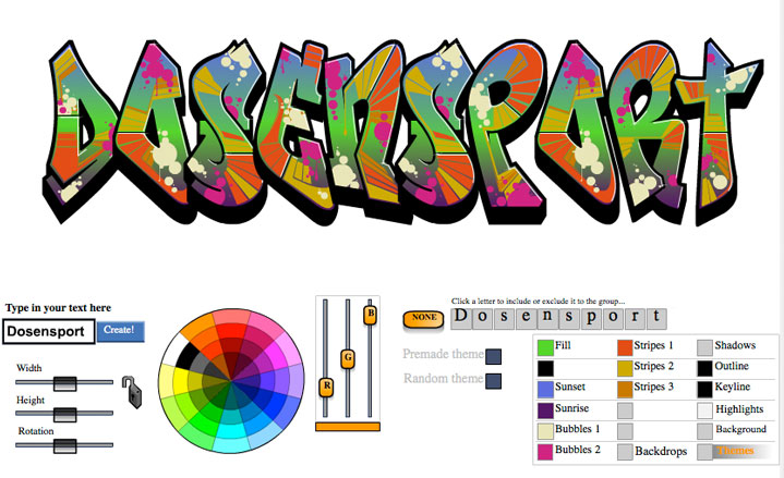 graffiticreator online graffiti creator graffitis creator. Black Bedroom Furniture Sets. Home Design Ideas